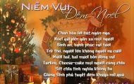 Thơ Tranh: Niềm Vui Đêm Noel